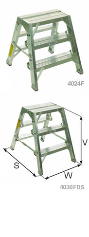 Heavy Duty Aluminum Folding Stands